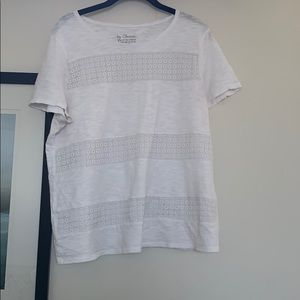 Chico's White Short Sleeve